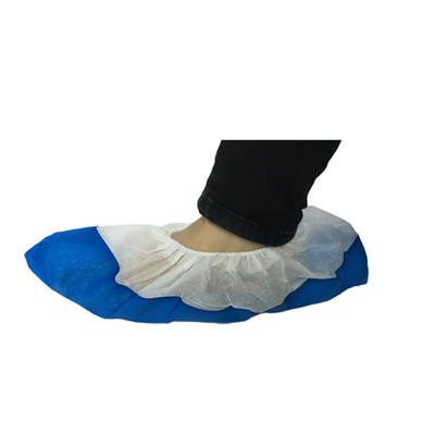 CPE coated shoe cover Protective Anti Skid